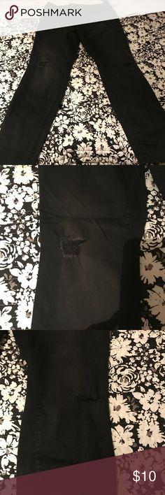 Skinny jeans Black skinny jeans, never used Old Navy Pants Skinny