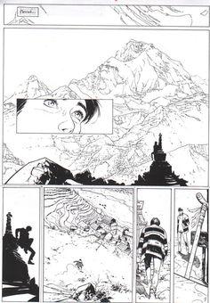 Névé par Emmanuel Lepage, Dieter - Planche originale - http://www.2dgalleries.com
