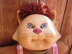 1983 Coleco Cabbage Patch Kids Koosa Cat by Artsefrtse on Etsy, $22.00