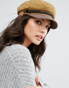 948dfd5bb89 Brixton Baker Boy Hat in Leather