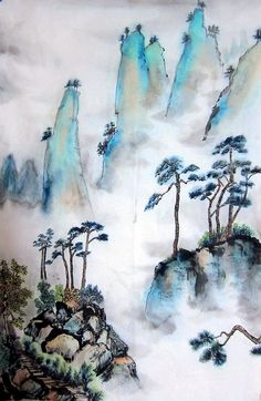 chinese painting by yipss
