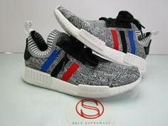 09f4f3932a344 Adidas NMD R1 PK GREY TRI COLOR 10  fashion  clothing  shoes  accessories