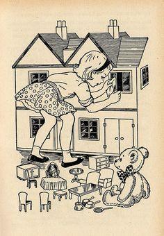 When Ellen Cleaned the Dolls' House by Enid Blyton