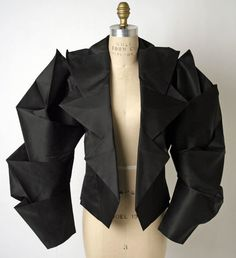 Issey Miyake  Origami jacket  S/S 1991                                                                                                                                                                                 More                                                                                                                                                                                 More