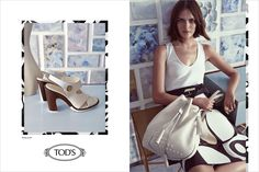 Tod's Spring Summer 2015 Women's Campaign. #tods #women #campaign #ss15