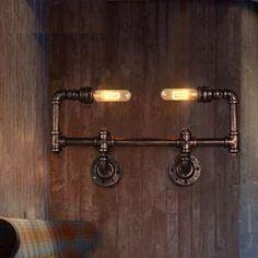 Barato Estilo Loft Edison lâmpada de parede arandela de ferro antigo de iluminação luminárias para iluminação de interior do Vintage, Compro Qualidade Luzes de parede diretamente de fornecedores da China:  Especificações        Informações Luz         Tipo     Arandelas de parede         Características     Lâmpada incluída