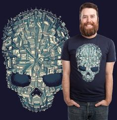 Welcome to Skull City! T-shirt