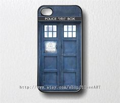 iphone 4 case iphone 4s case iphone case  Tardis by iCaseART, $9.35