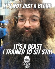 Want to ride a beast? Funny Inspirational Quotes, Motivational Quotes, Beard Razor, Beard Quotes, Bald With Beard, Clean Shaven, Herbal Oil, Beard Lover, Men Wear
