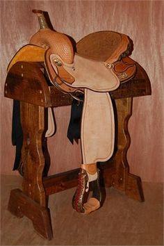 "Billy Cook Barrel Saddle - 14"" seat"