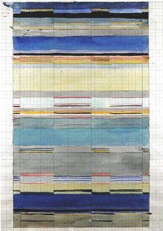 "topcat77: "" Gunta Stölzl . Bauhaus master weaver Design for a weave, 1928 """