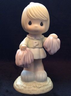 """""""Cheers To The Leader"""" Precious Moment Figurine"""