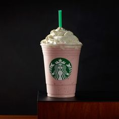 Strawberry Shortcake Frappuccino® Blended Crème: Strawberries, strawberry puree, vanilla bean and hazelnut syrup come together to bring the dessert to this summer sipping party.