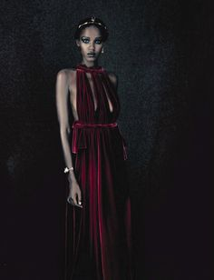 A Unique Style - Leila Nda by Paolo Roversi for Vogue Italia September 2015 - Valentino
