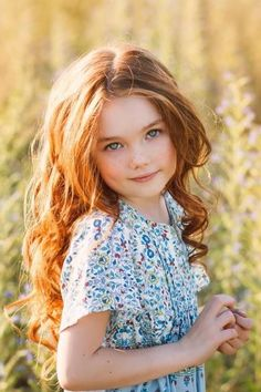 Fashion kids - red hair                                                                                                                                                                                 More