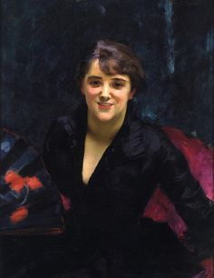 Madame Errazuriz also known as 'The Lady in Black' (1882) by John Singer Sargent