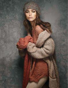 Carolina Sanchez by Giovanni Gastel for Glamour Italia September 2014