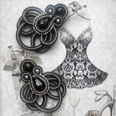 "Серьги ""You majesty"" - Оксана Тессителли jewelry"