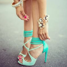 [mint me} <3 Guess by Marciano Sandals