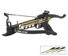 80lbs. Crossbow Pistol