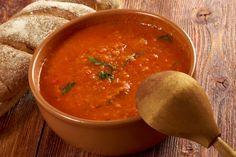 toszkan-paradicsomleves-recept Drink, Ethnic Recipes, Bridge, Beverage, Drinking, Drinks