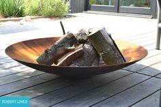 Design Feuerschale, sehr hochwertig. Für schöne und gemütliche Lagerfeuer Abende.