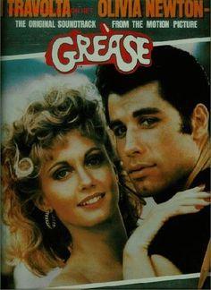 2 Discos de vinilo L.P. de la B.S.O. de la Opera-Rock Grease, con John Travolta y Olivia Newton-John