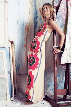 Mira Costa Maxi Dress - anthropologie.com