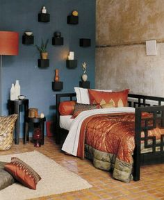 i like colors in room Design Inspiration of Interior,room,and kitchen: Moroccan Bedroom Design Ideas Moroccan Home Decor, Moroccan Bedroom, Ethnic Decor, Moroccan Interiors, Moroccan Style, Ethnic Bedroom, Morrocan Theme, Moroccan Furniture, Moroccan Lanterns