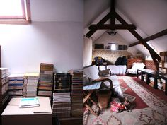 This attic. Those books.