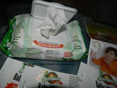 Bum Boosa Bamboo Baby Wipes #Giveaway 2/18 Daily #US Come enter to win! http://wp.me/p2Zbi5-1Yo