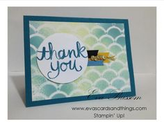 The Paper Players – Challenge #206: A Sketch Challenge   Eva's cards and things! Stampin' Up!