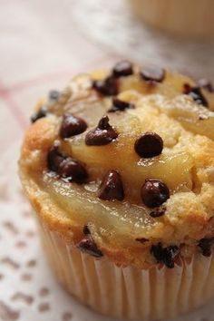 Belle Hélène cupcake