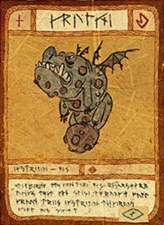 Gronckle Card