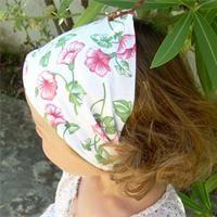 Bandeau foulard petite fille Accessoire cheveux à fabriquer - Loisirs créatifs