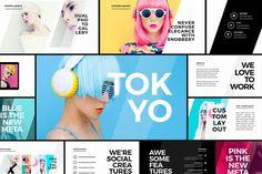 Tokyo - Creative Presentation by Tugcu Design Co. on @creativemarket