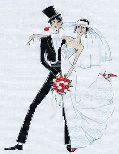 Вышивка Свадебное танго (Riolis)