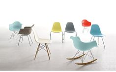 would LOOOOOVE 2 Eames® Molded Plastic Rocker (DWR)