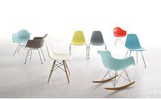 Eames® Molded Plastic Dowel-Leg Side Chair (DSW), Maple