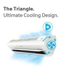 """Samsung presentó su más reciente línea de sistemas de aire acondicionado, mejor conocidos como """"Triangle Design"""", con la más alta tecnología (Digital Inverter), aunado a una tecnología exclusiva de purificación de aire que neutraliza los contaminantes nocivos en el aire, haciéndolos manejables por WIFI. ¡¡¡Fascinante, no lo crees??!!!! #miguelbaigts"""