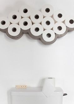 Our concrete Cloud Toilet Paper Shelf by French label Lyon Beton will bring a little fun and humour to your bathroom. Buy at Lime Lace for fast free delivery More bathroom Family Bathroom, Downstairs Bathroom, Beige Bathroom, Small Wc Ideas Downstairs Loo, Quirky Bathroom, Blue Bathrooms, French Bathroom, Luxury Bathrooms, Bathroom Small