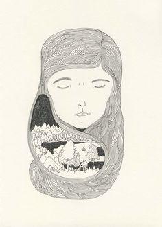Elsa Mora - Hair nest 960 Life Inside the Head