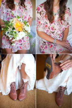 My kinda wedding shoe!