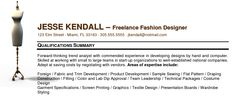 What should a freelance resume look like?