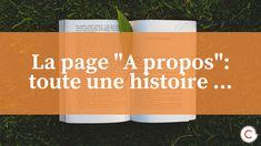 La page _A propos__toute une histoire ...