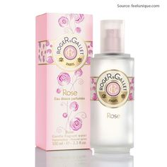 Roger & Gallet Rose Gentle Fragrant Water Spray, rich in essential oils, this bewitching bouquet assails the senses with its deliciously relaxing sensuality for £22 only.