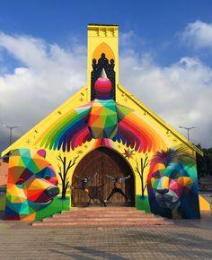 Marrocos: Igreja abandonada transformada em projeto de grafiti | Green Savers