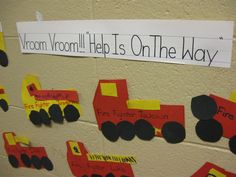 """read book """"Fire Fighters to the Rescue,"""" talk about fire safety and make these in a community helper unit."""