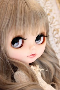 Large Eyes, Barbie World, Blythe Dolls, Beautiful Dolls, Fashion Dolls, Cool Pictures, Hairstyles, Babies, Cute