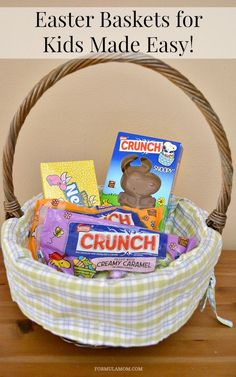 Filling the Easter baskets doesn't have to be a stressful activity! Check out these tips for Easter Baskets for Kids Made Easy! (sponsored)